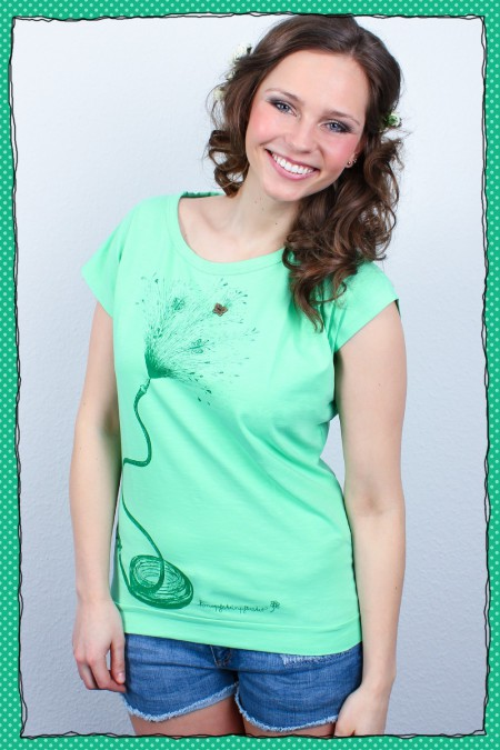 Sommerregen - Damenshirt -...