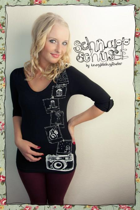 Schnappschüsse - Damenshirt...