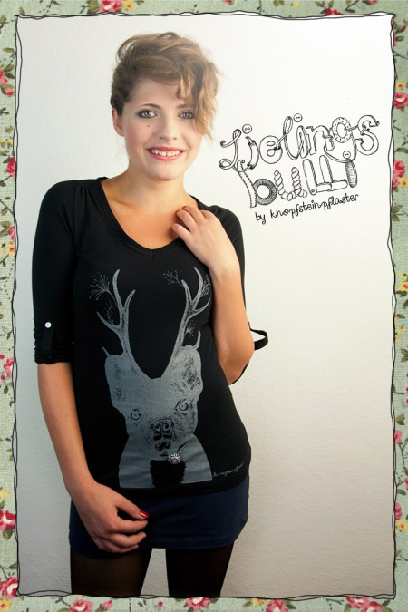 Lieblingsbully - Damenshirt...